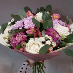 Букет «Розовое кружево»
